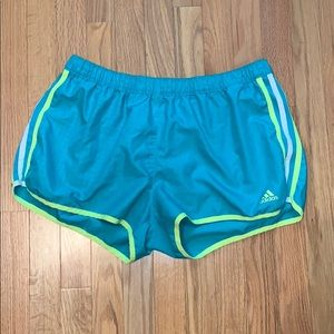 Adidas Climalite Running Athletic Shorts